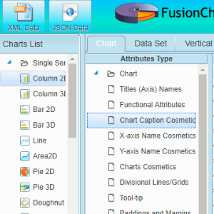 example fushioncharts editor image